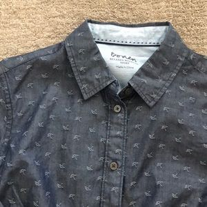 Boden relaxed denim shirt